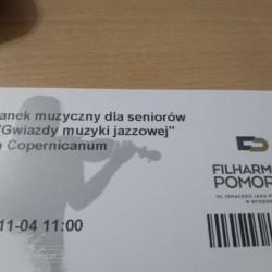 Spółdzielnia Socjalna WIGOR - Gwiazdy muzyki jazzowej w Filharmonii Pomorskiej