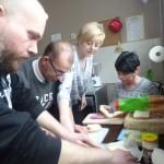 Zajęcia Uczestników Środowiskowego Domu Samopomocy w Żalinowie