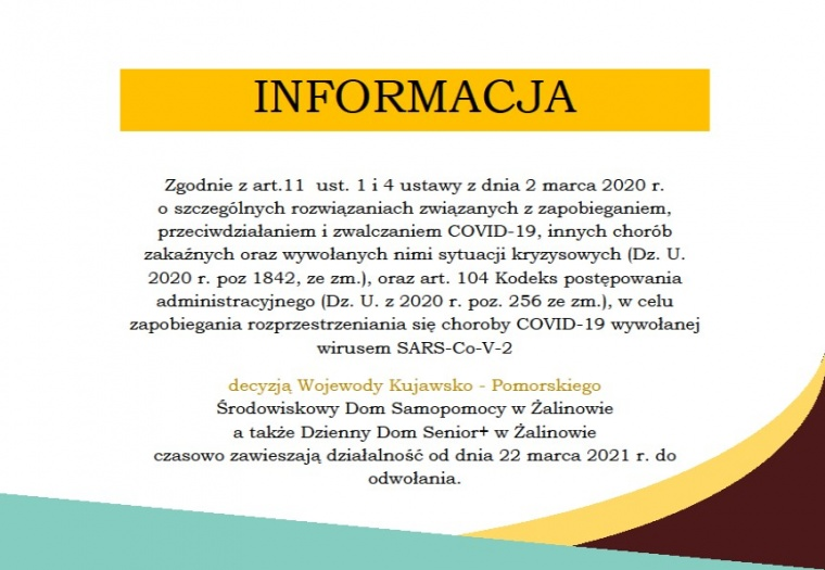 Spółdzielnia Socjalna WIGOR - Informacja