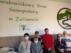Nastąpił upragniony powrót Uczestników do Środowiskowego Domu Samopomocy w Żalinowie... - Spółdzielnia Socjalna WIGOR